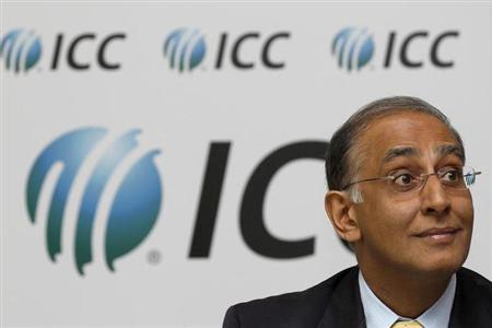 International Cricket Council (ICC) chief executive Haroon Lorgat, listens to questions during a news conference with Anti Corruption and Security Unit chairman Ronnie Flanagan at Lord's cricket ground in London September 3, 2010.