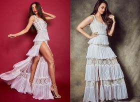 Dabangg Showdown: Malaika or Sonakshi, who rocked this racy white gown better?
