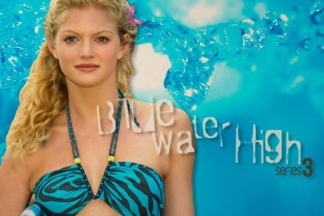 She stared as Bridget Sanchez in Blue Water High. Source: ABC