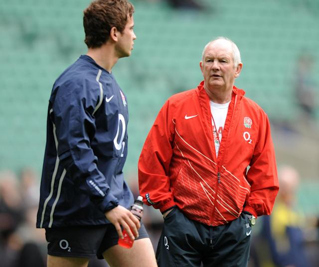 Danny Cipriani clashed with England coach Brian Ashton in 2008