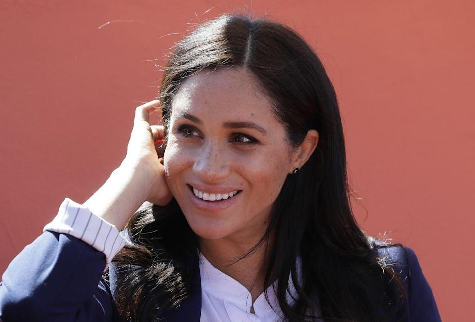 """<p>""""It's easy to fall into the trap of rushing for a coffee when you hit that 4 p.m. slump,"""" she told <em><a href=""""https://www.today.com/food/10-healthy-food-ideas-suits-star-foodie-meghan-markle-I466495"""" rel=""""nofollow noopener"""" target=""""_blank"""" data-ylk=""""slk:Today"""" class=""""link rapid-noclick-resp"""">Today</a></em>. """"But if I blend some apple, kale, spinach, lemon, and ginger in my Vitamix in the morning and bring it to work, I always find that sipping on that is a much better boost than a cup of espresso.""""</p>"""