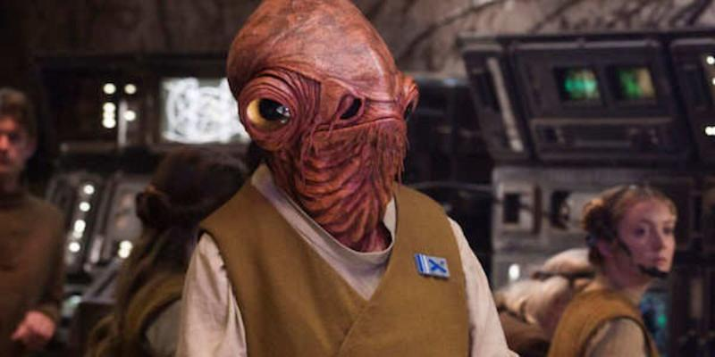 Tim Rose has strong words on the treatment of Admiral Ackbar
