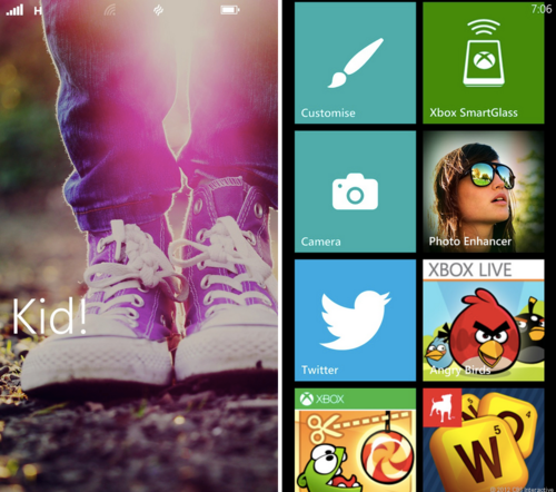 Windows Phone Kids Corner