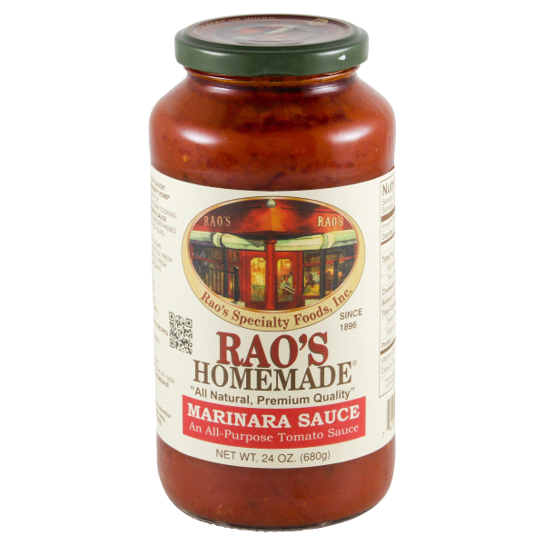 "<p>Fun fact: We use this in every single Delish recipe that calls for marinara as an ingredient. It's so good, we could eat it by the spoonful. It is more expensive than most other bottles on the shelf (it'll set you back around $9), but it's worth it. <br></p><p><a class=""link rapid-noclick-resp"" href=""https://www.amazon.com/Raos-Marinara-Sauce-24-oz/dp/B000WH9DCW/?tag=syn-yahoo-20&ascsubtag=%5Bartid%7C1782.g.25835668%5Bsrc%7Cyahoo-us"" rel=""nofollow noopener"" target=""_blank"" data-ylk=""slk:BUY NOW"">BUY NOW</a><strong><em>Rao's Marinara Sauce, $12</em></strong></p>"