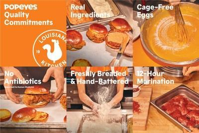 POPEYES® ANNOUNCES NEW QUALITY & SUSTAINABILITY COMMITMENTS (CNW Group/Popeyes Louisiana Kitchen, Inc.)