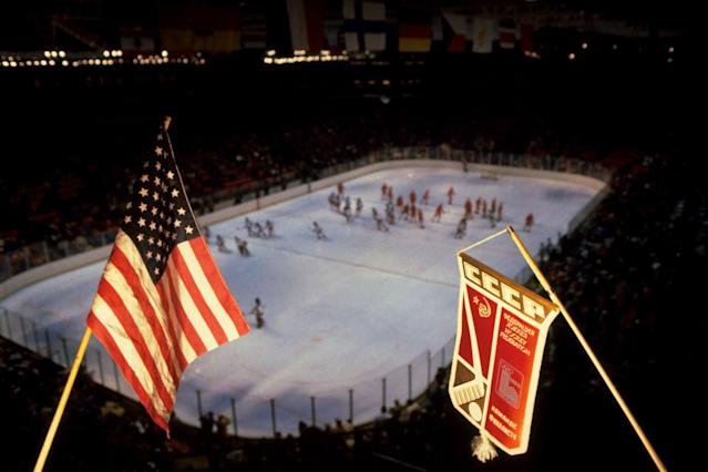 <p>Heading into the 1980 Winter Olympic Games in Lake Placid, the USA men's hockey team were the definition of underdogs. Yet somehow the group of young college players found themselves one win away from playing in the gold medal game. Their only obstacle? The most formidable team in the world: the Soviet Union. </p>