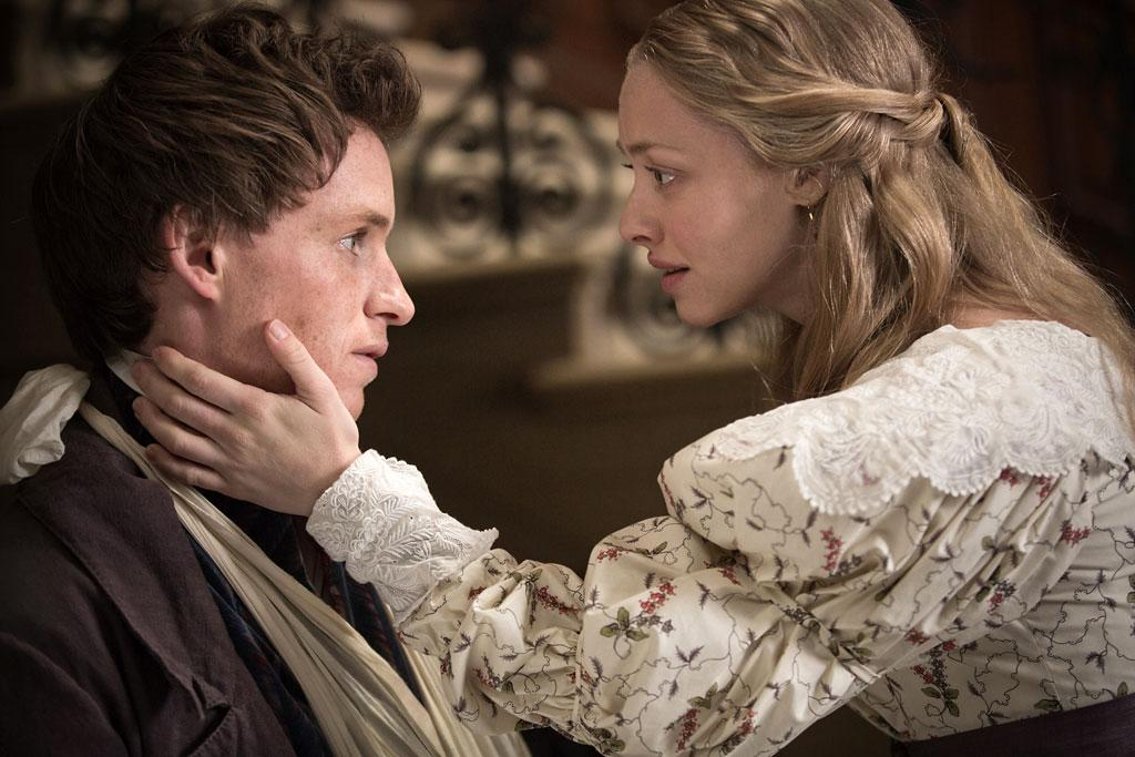 "Amanda Seyfried and Eddie Redmayne in Universal Pictures' ""Les Miserables"" - 2012"