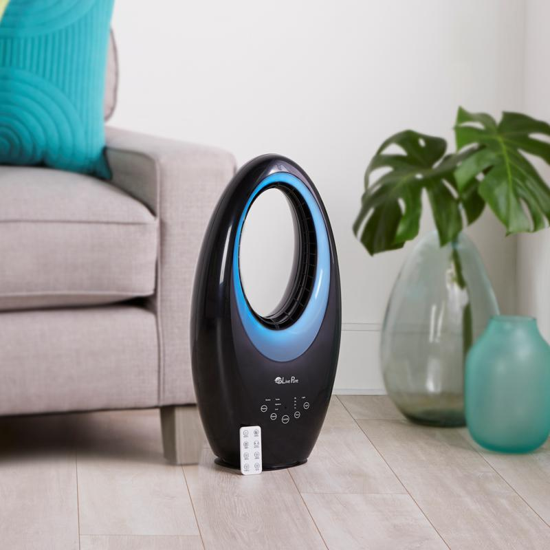 Looked at in a living-room context, you might turn out to be the LivePure's biggest fan...and vice versa! (Photo: HSN)