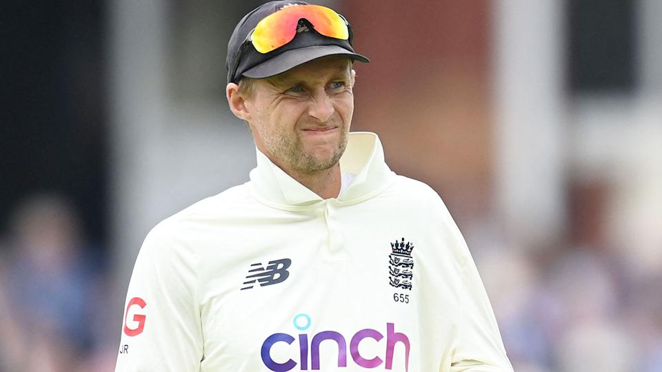 Seen here, England captain Joe Root during the second Test against India.