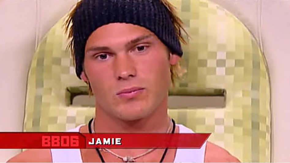 Jamie Brooksby on big brother in 2006