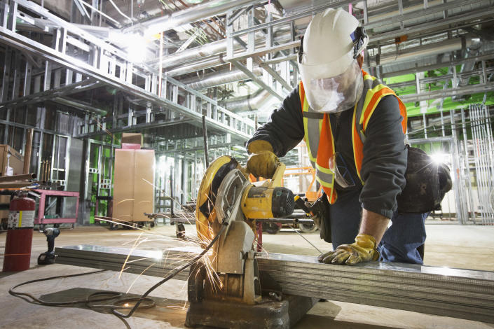 Practicing safe working habits, getting yearly breathing tests and not smoking are among the ways construction workers can protect themselves from COPD. (Photo: Getty Creative)