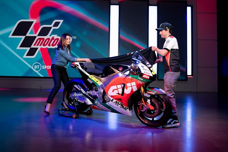 Crutchlow's livery for 2020 season revealed