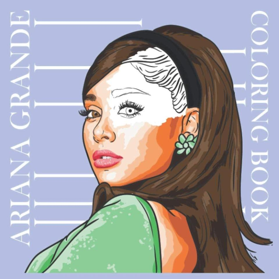 <p>If they love to get creative, they'll enjoy this <span>Ariana Grande Coloring Book</span> ($7). It's perfect for those who enjoy relaxing activities like coloring. </p>