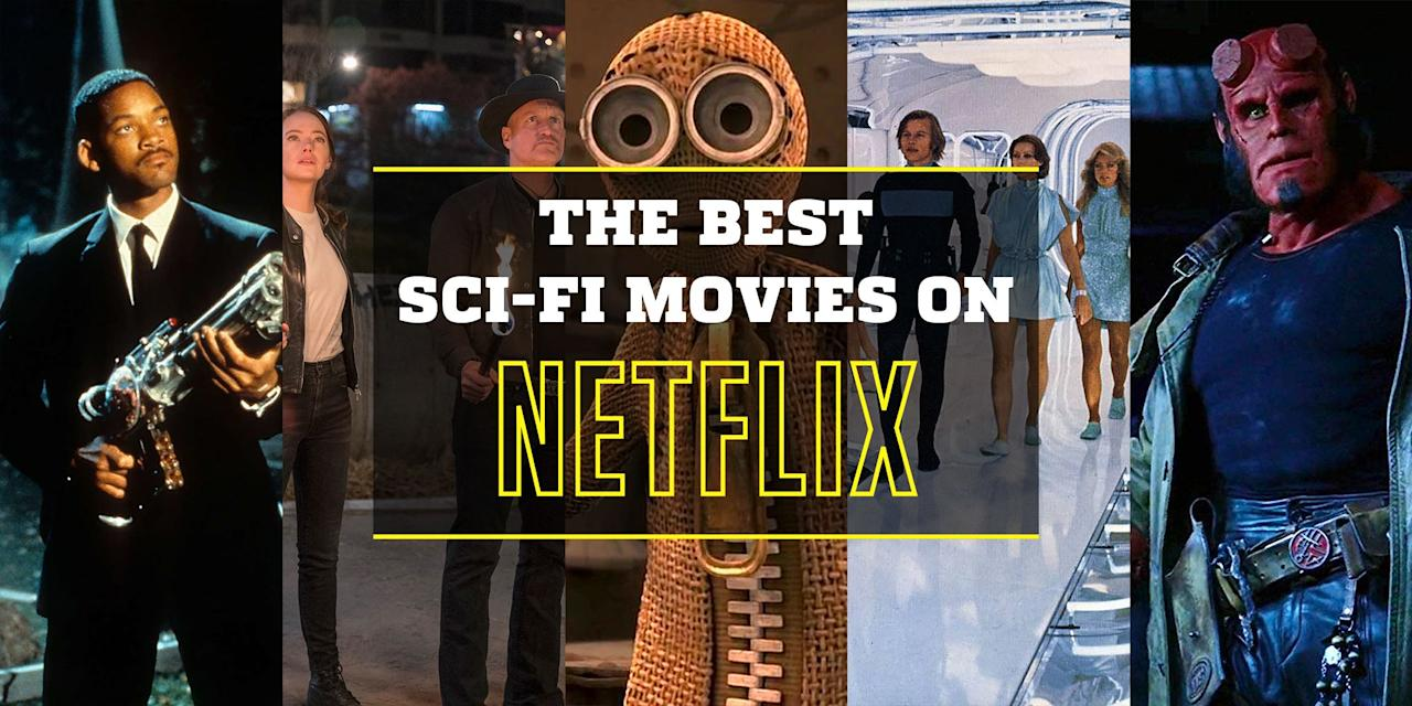 """<p>Sci-fi isn't hard to come by if you subscribe to Netflix. We scoured the site and found the very best the genre has to offer on the world's most popular streaming service. </p><p>Also check out our <em><a href=""""https://www.popularmechanics.com/culture/movies/a30089838/sci-fi-movies-2020/"""" target=""""_blank""""></a></em><a></a><em><a href=""""https://www.popularmechanics.com/culture/movies/a30089838/sci-fi-movies-2020/"""" target=""""_blank"""">2020 Sci-Fi Film Guide</a> </em>if you feel like schlepping it to the theater.<em></em></p>"""