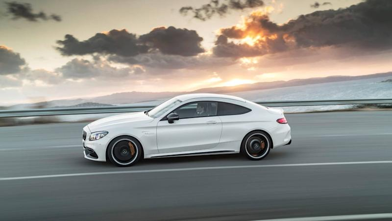 Get Up Close And Personal With The 2019 Mercedes Amg C63 S Coupe