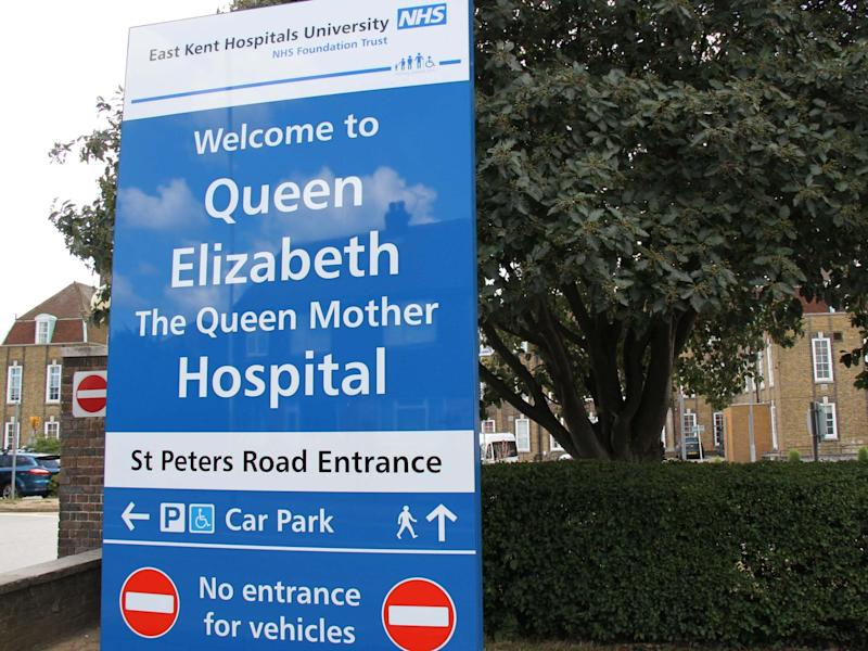A criminal investigation has been launched into poor care at the East Ken University Hospitals Trust: Alamy