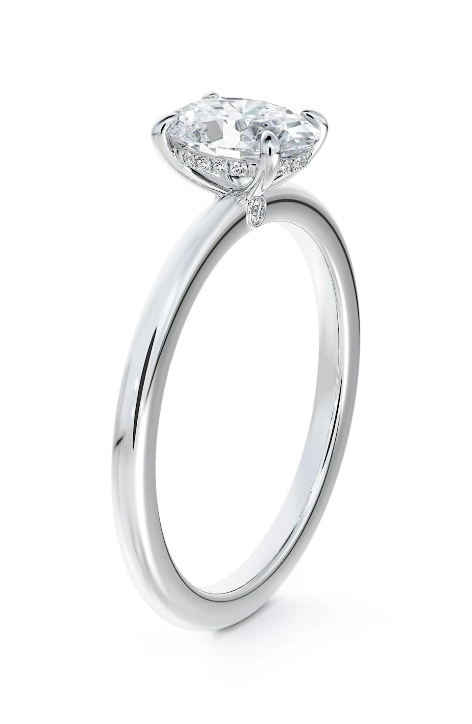 """<p><strong>De Beers Forevermark</strong></p><p>nordstrom.com</p><p><strong>$5445.00</strong></p><p><a href=""""https://go.redirectingat.com?id=74968X1596630&url=https%3A%2F%2Fwww.nordstrom.com%2Fs%2Fde-beers-forevermark-x-micaela-simply-solitaire-oval-engagement-ring%2F5824928&sref=https%3A%2F%2Fwww.townandcountrymag.com%2Fstyle%2Fjewelry-and-watches%2Fg37368162%2Ffine-jewelry-brands-at-nordstrom%2F"""" rel=""""nofollow noopener"""" target=""""_blank"""" data-ylk=""""slk:Shop Now"""" class=""""link rapid-noclick-resp"""">Shop Now</a></p><p>De Beers is known worldwide for their exquisite natural diamonds—and a go to for the engagement set. </p>"""