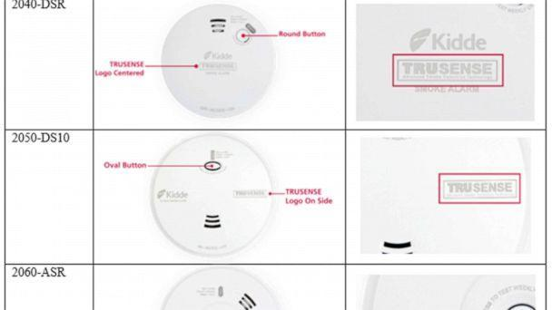 PHOTO: Kidde TruSense Smoke Alarms and Combination Smoke/Carbon Monoxide Alarms have been recalled because of concerns about alert functionality, May 6, 2021.  (Consumer Product Safety Commission)
