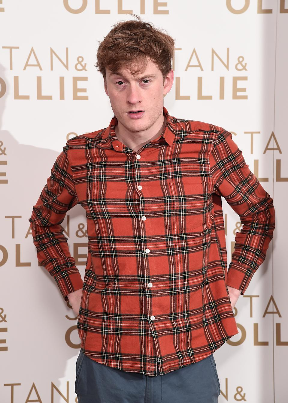 LONDON, ENGLAND - JANUARY 08: James Acaster attends special preview screening of Stan & Ollie at Soho Hotel on January 08, 2019 in London, England. (Photo by Eamonn M. McCormack/Getty Images for eONE)