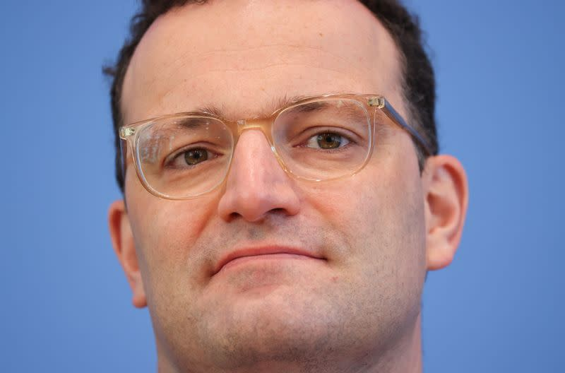 EU should draw up list of medicines to be produced in Europe - Spahn