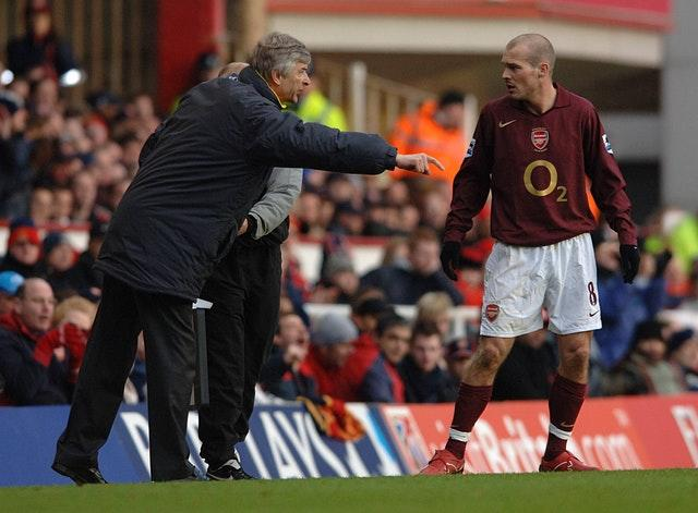 Freddie Ljungberg played under Arsene Wenger at Arsenal (Matthew Fearn/PA)