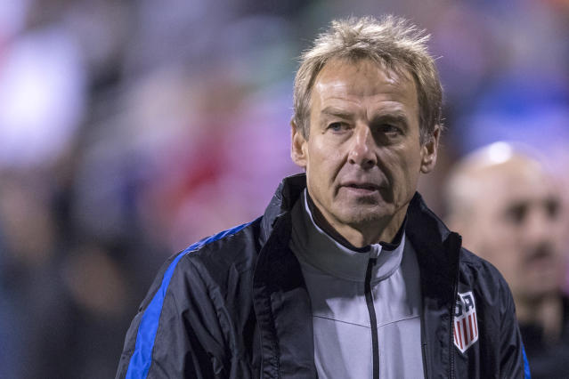 Though he was fired in 2016, former USMNT coach Jurgen Klinsmann was the highest-paid U.S. Soccer Federation coach in 2018. (Robin Alam/Icon Sportswire/Getty Images)