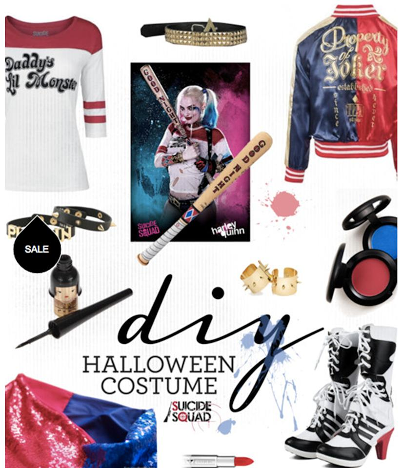 "<p>It's not even Halloween yet, but Harley Quinn has already emerged as <i>the</i> costume of the year. <a rel=""nofollow"" href=""http://www.yahoo.com"">Click over to Polyvore</a> to shop this note-perfect look — right down to that satin bomber we'd gladly wear the other 364 days of the year. </p>"