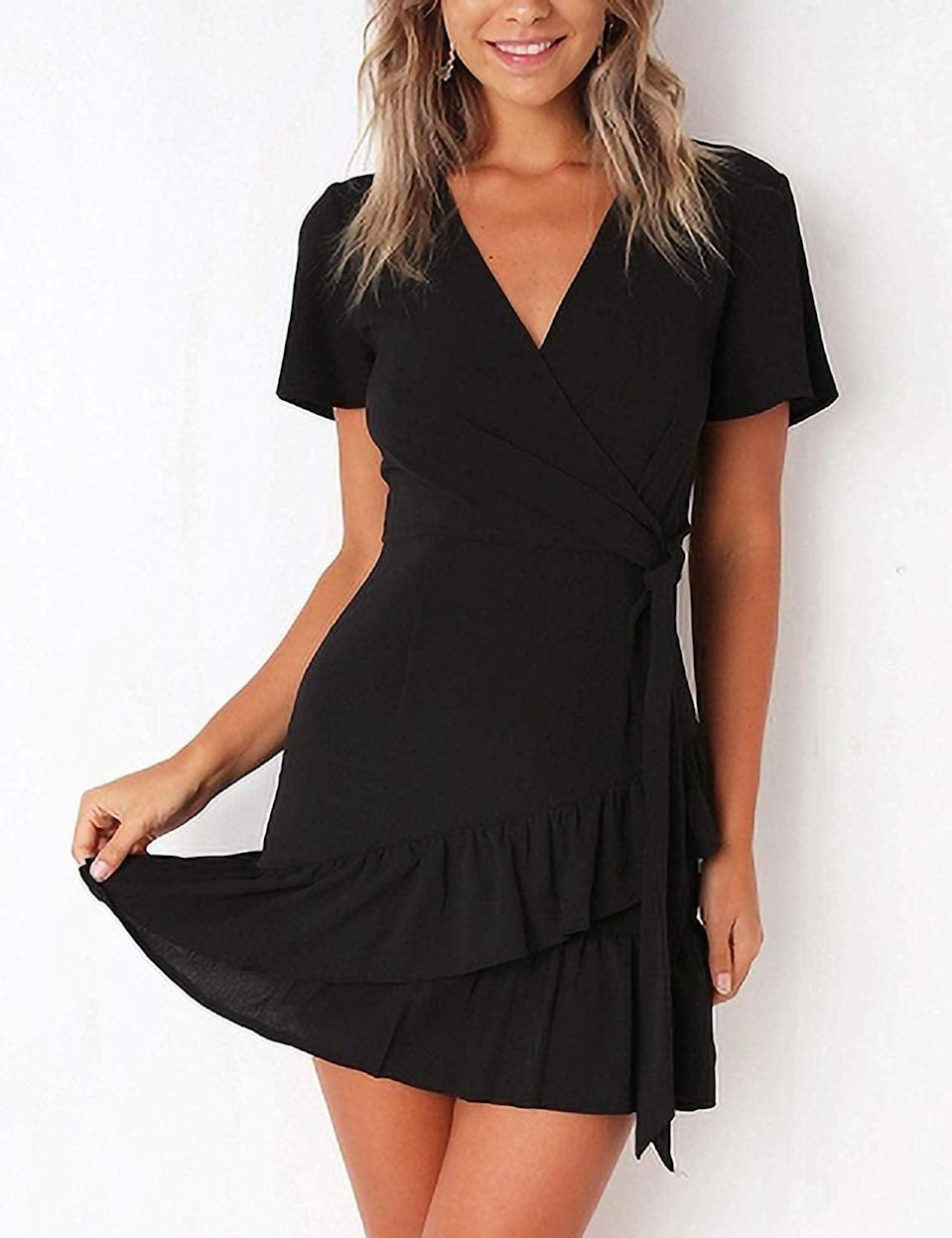 <p>Our editors have tried and love this <span>Relipop Wrap Dress</span> ($24).</p>