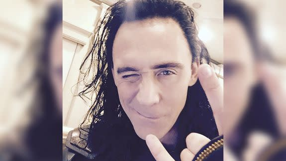 Tom Hiddleston Shares First Instagram Photo!