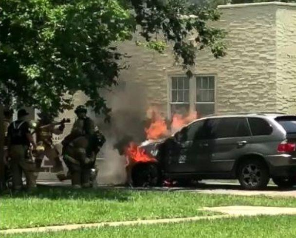 PHOTO: Virginia Chamlee says BMW never came to inspect her 2005 BMW X5 after it ignited in her driveway in Jacksonville while she says it was parked and turned off. (Obtained by ABC News)