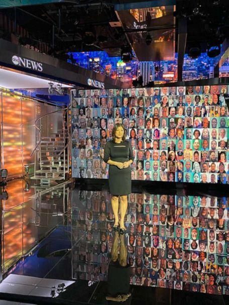 PHOTO: Juju Chang leading Nightline's coverage of the U.S. marking 500,000 deaths due to COVID-19.   (Courtesy Juju Chang)