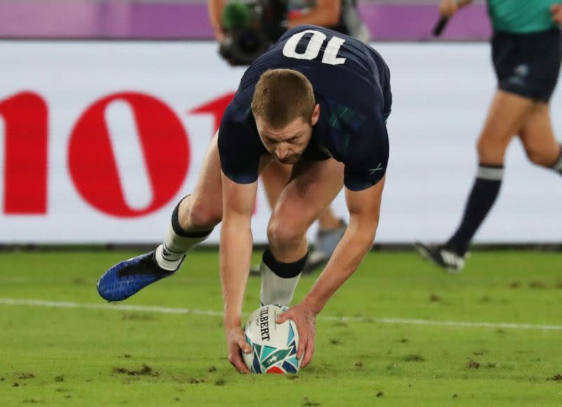 FILE PHOTO: Rugby World Cup 2019 - Pool A - Japan v Scotland