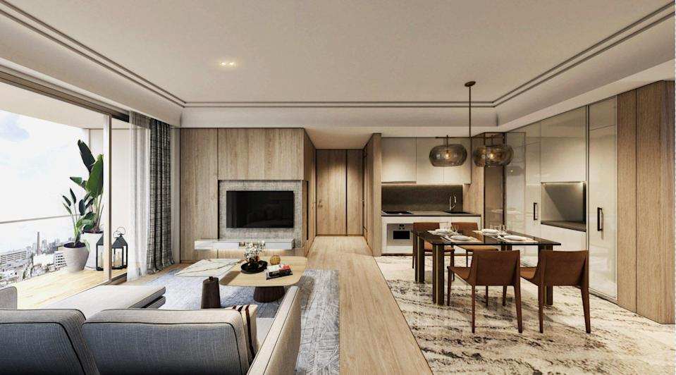 Masterise Homes, the developer of Grand Marina, Saigon, is offering 72 units in the first tower at prices starting from US$888,000, according to Asia Bankers Club, which is marketing the property to its members. Photo: Handout