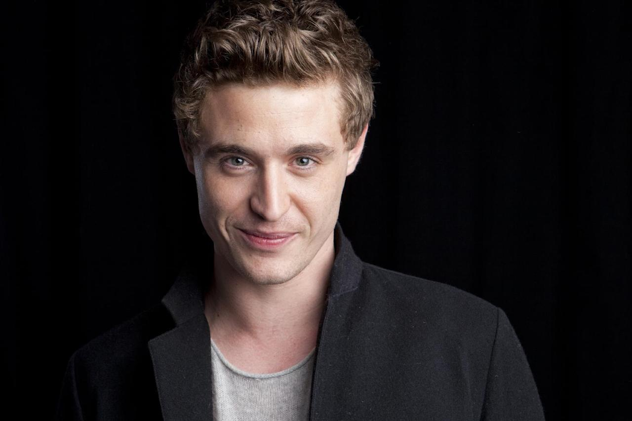 """This June 3, 2013 photo shows Max Irons from the Starz original series """"The White Queen,"""" posing for a portrait in New York. """"The White Queen"""" premieres Aug. 10 at 8 p.m. EST (Photo by Amy Sussman/Invision/AP)"""