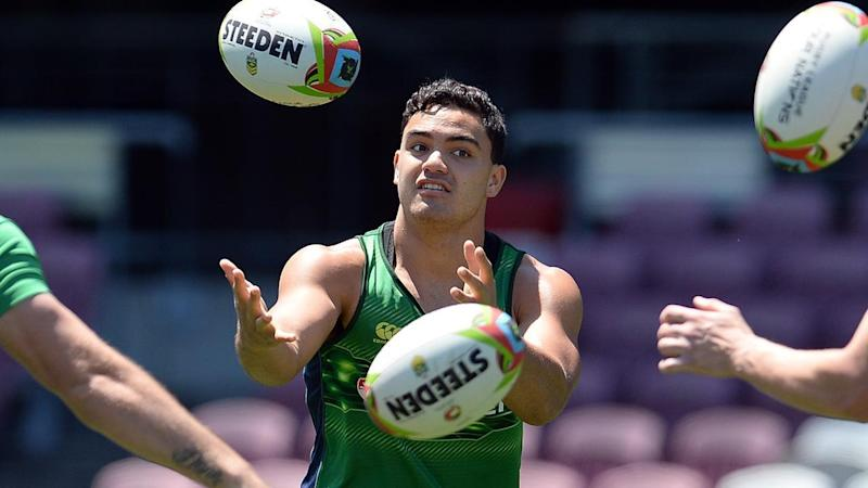 Dylan Walker's time with the Prime Minister's XIII ended badly when he broke his ankle against PNG.