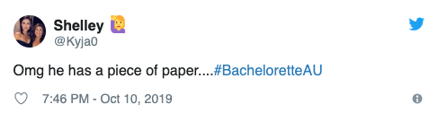 Social media reacts to bachelor Carlin's marriage bombshell. Photo: Twitter.