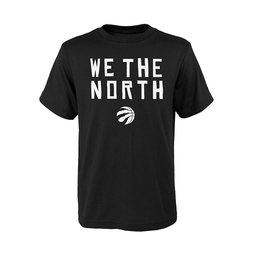 Toronto Raptors NBA We The North Black Tee