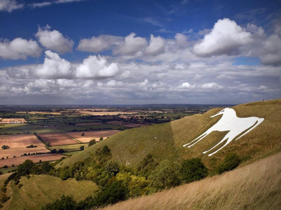 Westbury is famed for its white horse (Getty Images/iStockphoto)