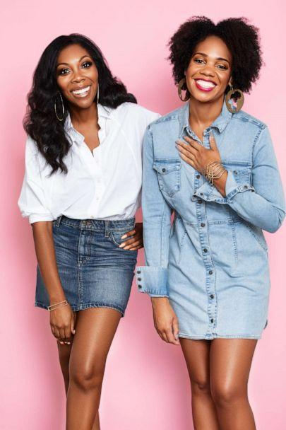 Kimberly Smith and Amaya Smith are the co-founders of The Brown Beauty Co-Op based in Washington, DC. (Courtesy of The Brown Beauty Co-Op)