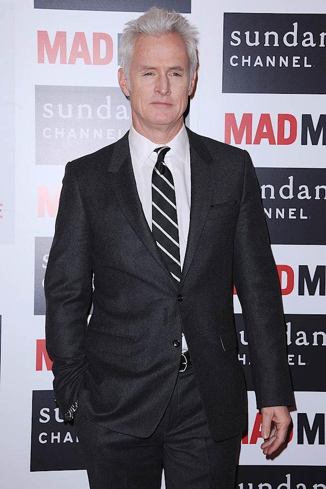 "August 13: John Slattery (""Mad Men"") turns 49. Francois Durand/<a href=""http://www.gettyimages.com/"" target=""new"">GettyImages.com</a> - February 9, 2011"