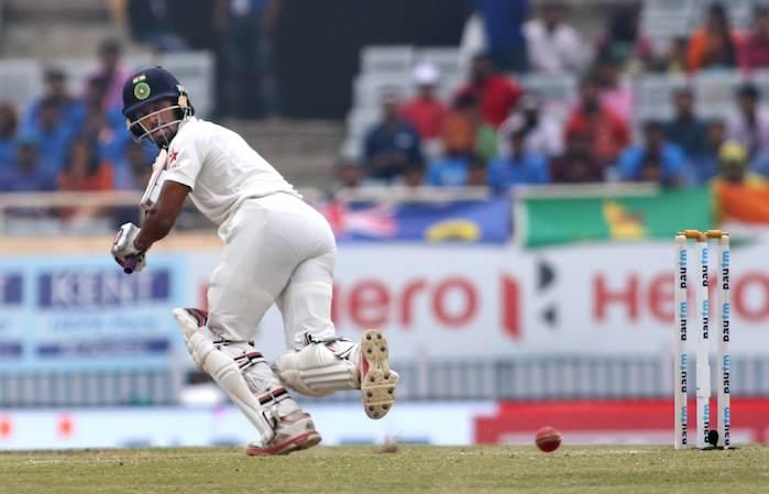 3rd Test: Pujara, Saha put India in command at lunch