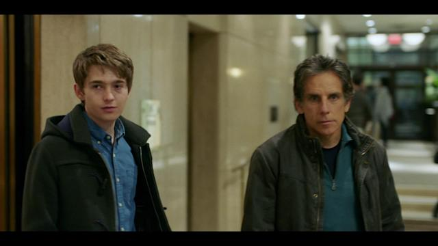 Ben Stiller and Austin Abrams as father and son in director Mike White's  <em>Brad's Status</em>