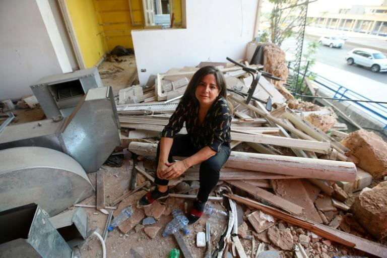 Beirut's nightlife districts were hit hard by the August 4 blast, and bar co-owner Gizelle Hassoun have turned to crowdfunding for help