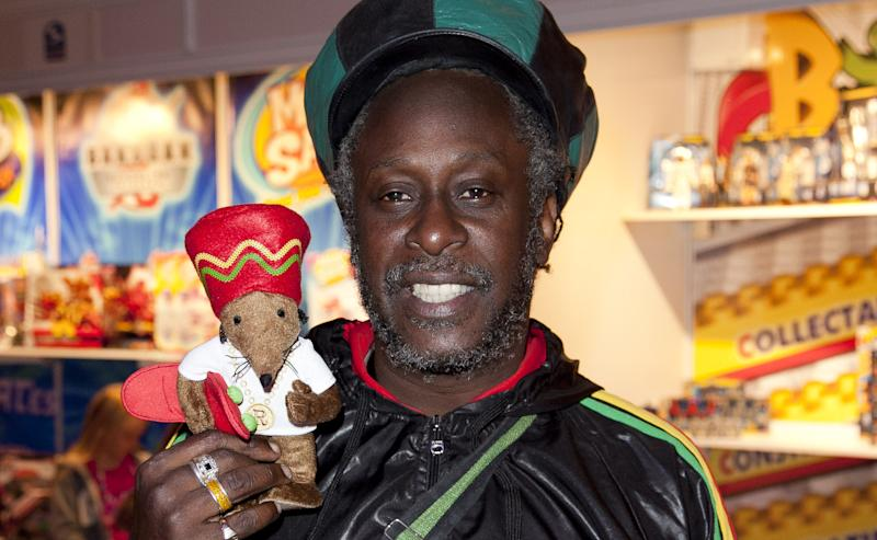 'Rastamouse' creator Michael De Souza at the Toy Retailers Association's 'Dream Toys' fair in 2011. (Credit: John Phillips/UK Press via Getty Images)