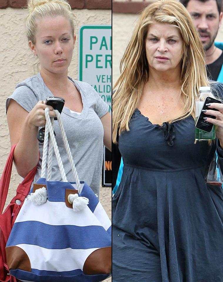 """<i>In Touch</i> reports Kendra Wilkinson is """"jealous"""" of her """"Dancing with the Stars"""" competitor Kirstie Alley, and notes their relationship is """"anything but friendly."""" According to the mag, Wilkinson is """"increasingly jealous"""" of Alley not only because she outscored her in the first two rounds, but also because she's become a favorite with the public. <i>In Touch</i> writes, """"Everyone thought that Kendra would be the sexy star of the show, but Kirstie stole her thunder."""" For how fierce their rivalry has become, log on to <a href=""""http://www.gossipcop.com/kendra-wilkinson-jealous-kirstie-alley-dancing-with-the-stars-feud-dwts/"""" target=""""new"""">Gossip Cop</a>. <a href=""""http://www.splashnewsonline.com"""" target=""""new"""">Splash News</a> - April 1, 2011"""