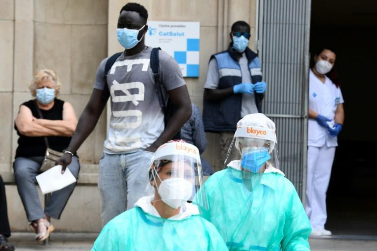 A local court suspended a home confinement order imposed on more than 200,000 people in the city of Lerida and its surrounding areas in the Spanish region of Catalonia after an upsurge in virus cases