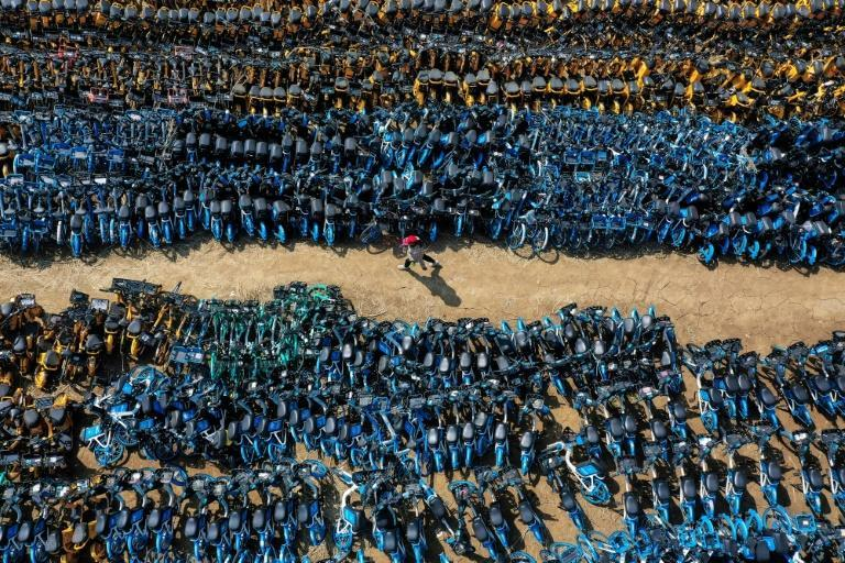 Low cost-shared bikes, which users can unlock using apps and park virtually anywhere, burst onto Chinese streets in the middle of the last decade