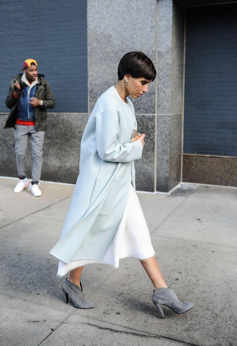 <p>Saudi Princess Deena Al-Juhani Abdulaziz is the first Editor in Chief of <em>Vogue Arabia</em>, and owns two members-only stores called D'NA in the Middle East that cater to private clients. </p>