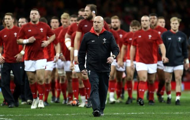 Wales' assistant coach Shaun Edwards has demanded more of his players in defence (David Davies/PA)
