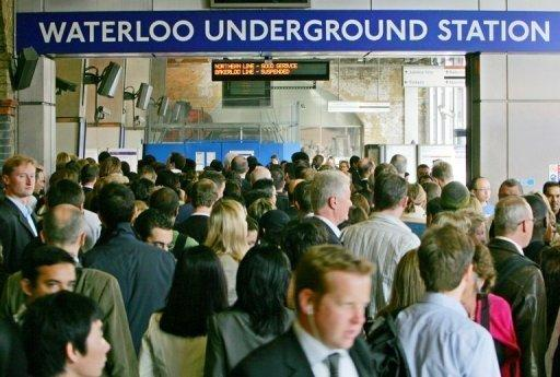 London's ageing underground train network is already overcrowded